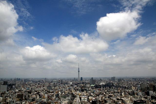 SKYTREE on TOKYO from Mandarin Oriental Tokyo