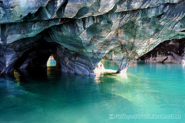 Reserva nacional cavernas de marmol lago general carrera for Marmol significado