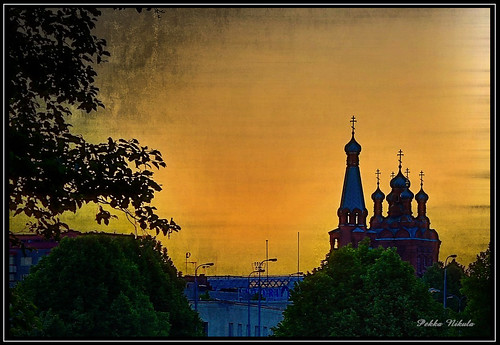 morning building church sunrise orthodox tampere ratina silhuetti ratinansuvanto yökuva churchtampere
