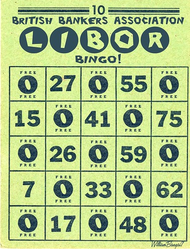LIBOR BINGO CARD by Colonel Flick