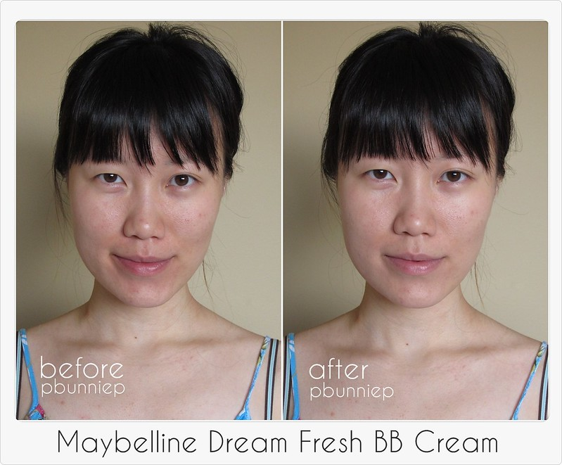Maybelline Dream BB Before-After