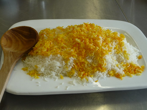 Polow Rice with Saffron