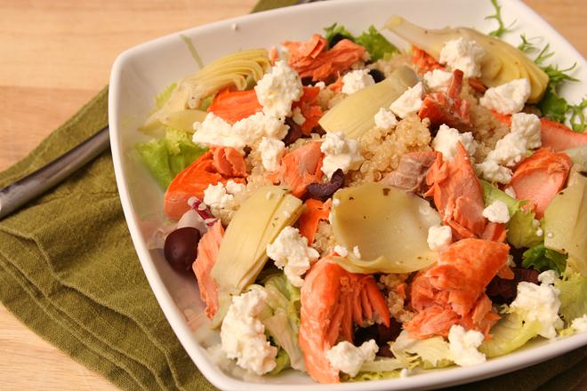 mediterranean salmon salad 4