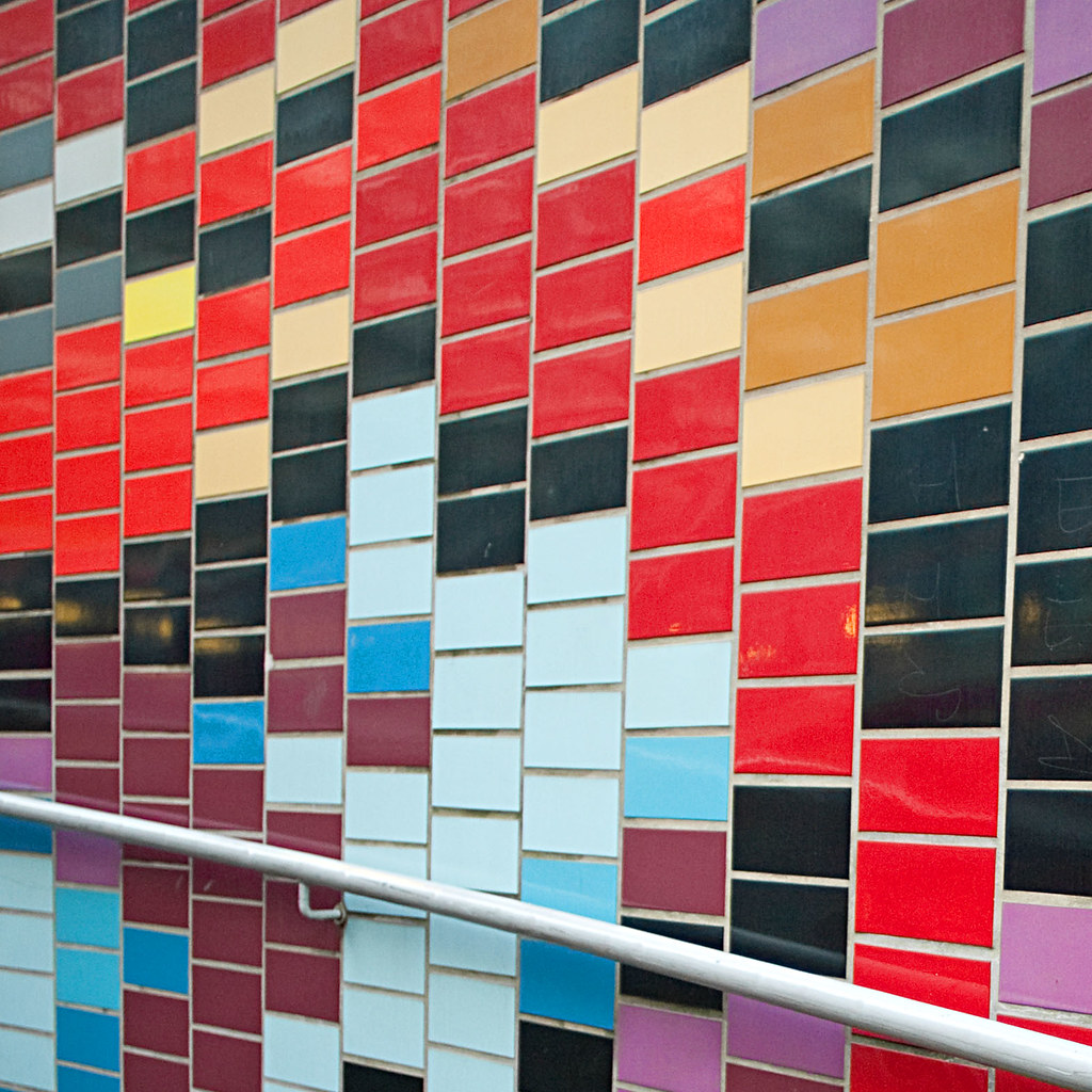 Coloured Tiles    | I want to go back here when the weather … | Flickr