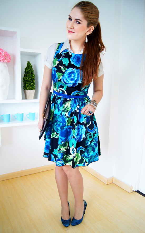 Floral dress by The Joy of Fashion (7)