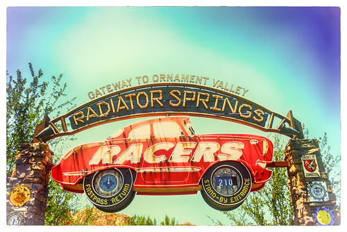 Post Cards From Radiator Springs:  We're Having A Blasts by hbmike2000