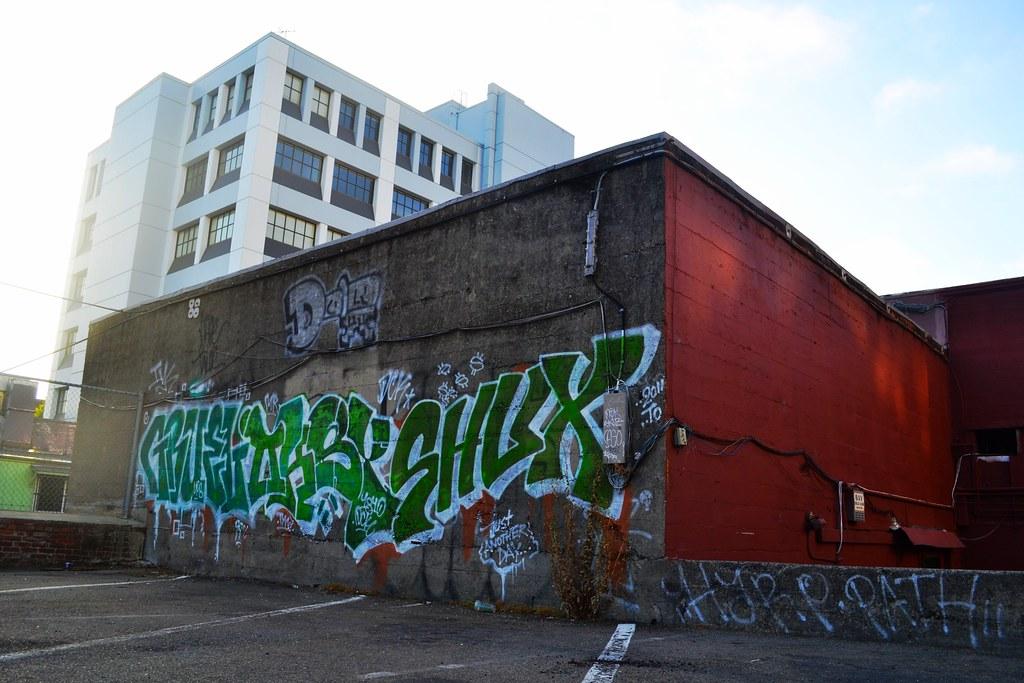 GRUEL, OKSY, SHUX, Graffiti, Street Art, Berkeley