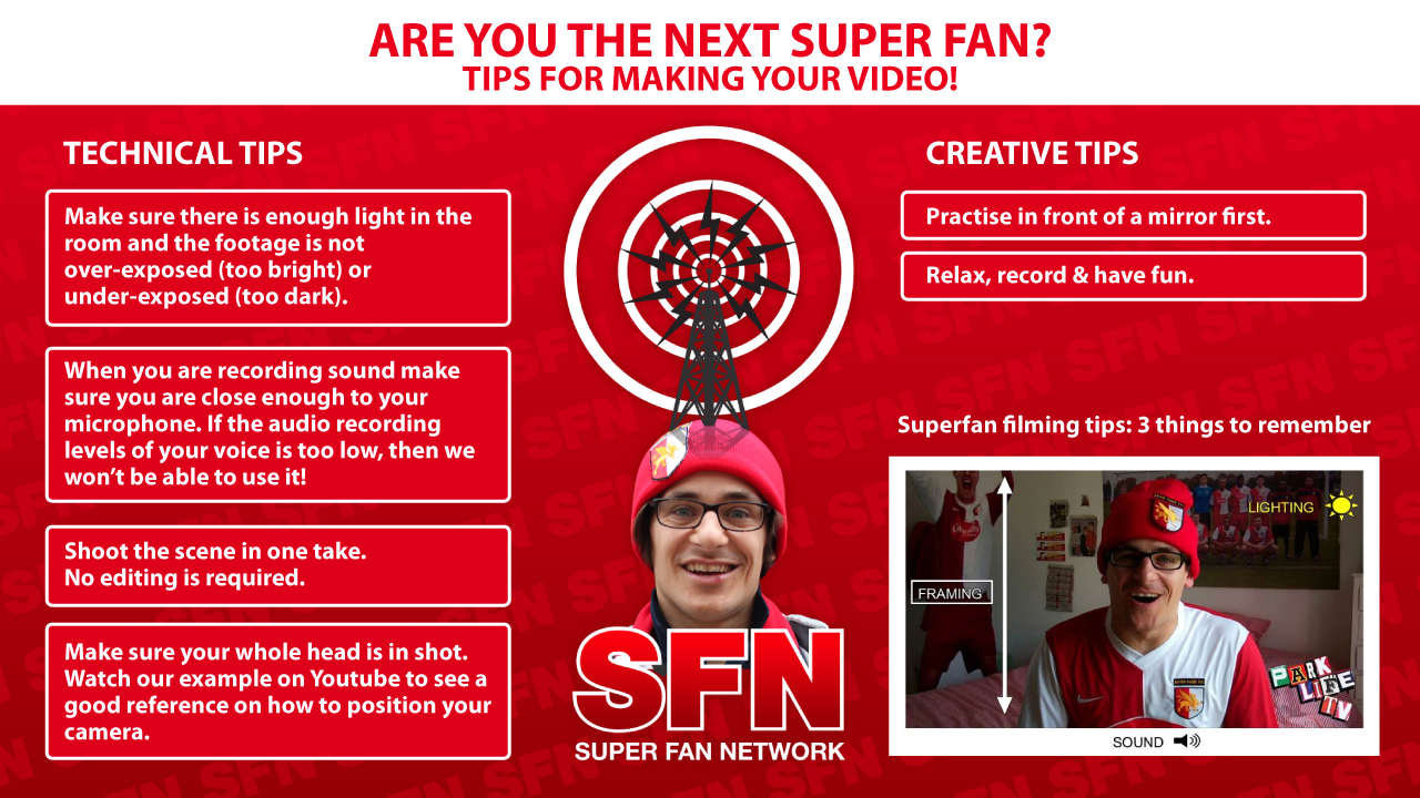 Super Fan Tips