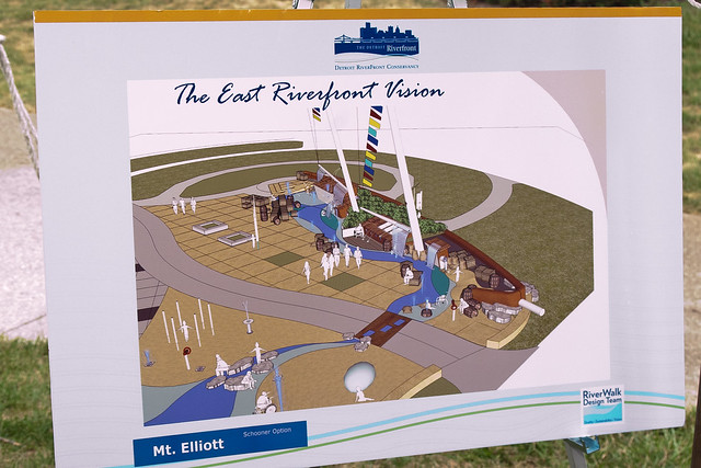 rendering of Mt. Elliott park