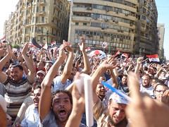 Protests across Egypt have not brought a right to information. Credit: Khaled Moussa al-Omrani.