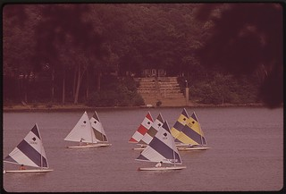 The Fourth Annual Spring Sunfish Regatta Of The Louisville Sailing Club, June 1972