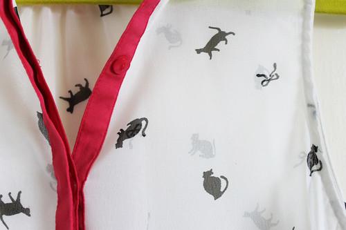 Primark Cat Print Shirt