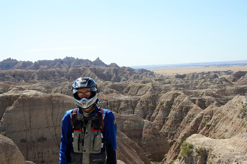 Epic photo op in the Badlands