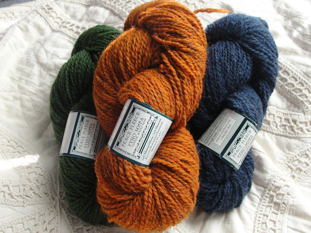 Stash Yarn: Peace Fleece