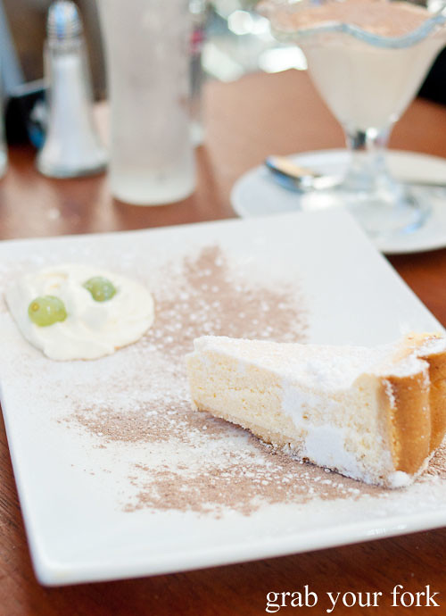 ricotta cake dessert at via napoli lane cove