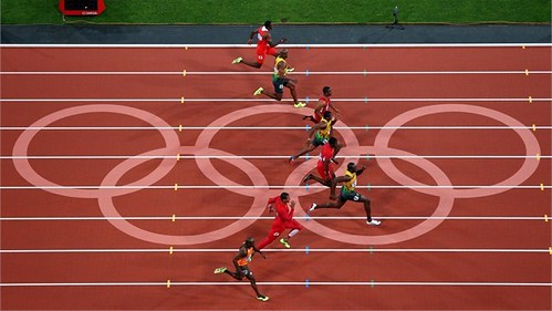 Usain Bolt 100m Londres 2012