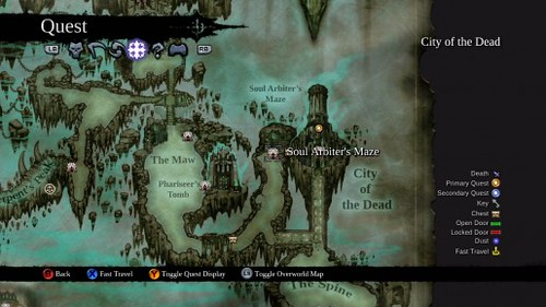 Darksiders 2 Soul Arbiter's Maze Guide - Puzzle Solutions To Secret Room and Next Level
