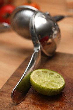 lime for melon-nectarine agua fresca