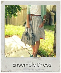 how to refashion goodwill dress