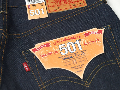 Levi's / 501XX Made in The USA