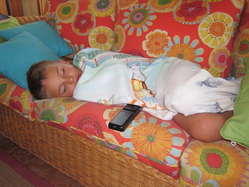 Sleeping Ezra