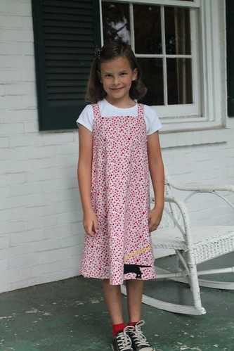 Anna's first day in 2nd Grade.