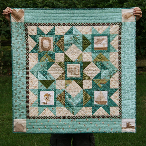 40th anniversary quilt 2
