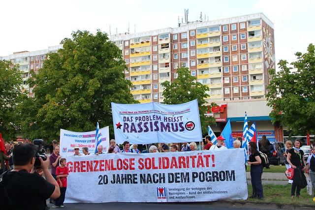 Rostock - 20 Jahre nach den Pogromen | Das Problem heißt Rassismus