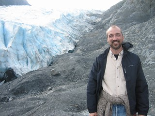 Jay at Exit Glacier, August 2009