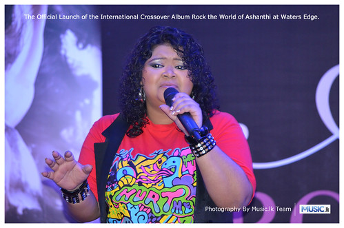 Ashanthi's Rock the World Album Launch