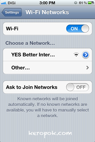 Free 4G Wifi on the train