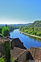 les toits de la Roque Gageac, et la Dordogne