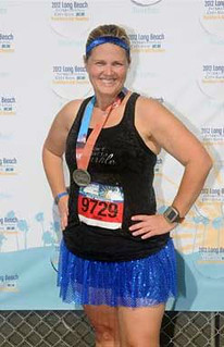 Long Beach Half Marathon-Angry Julie