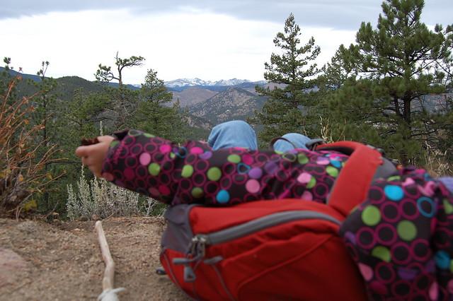 Snack Break - Hiking at Tenderfoot Loop Trail, Boulder, CO