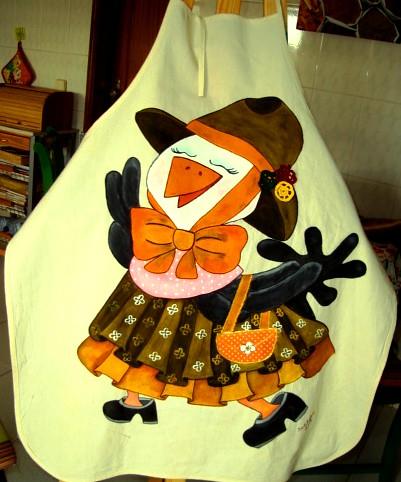 O avental pintado by Galeria de Pinturas