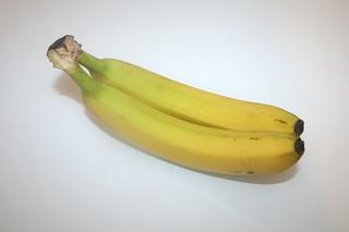 02 - Zutat Bananen / Ingredient bananas