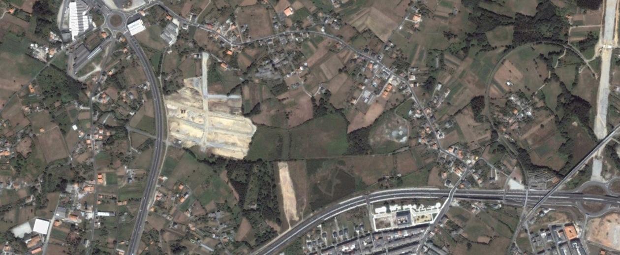 antes, urbanismo, foto aérea, desastre, urbanístico, planeamiento, urbano, construcción,O Vinculeiro, A Coruña