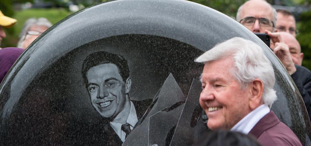 Jimmy Clanton - Alan Freed memorial dedication - Lake View Cemetery - 2016-05-07