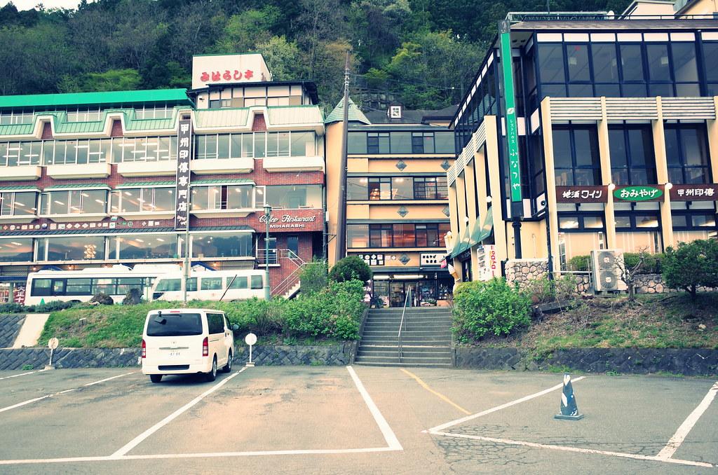 山岸旅館周辺