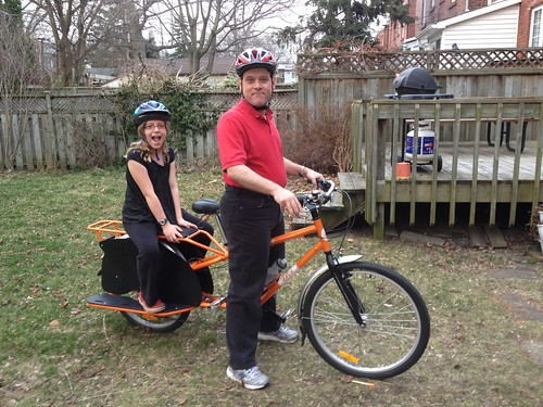 Cargo bike in action!