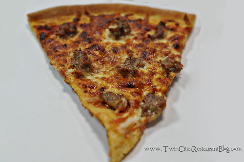 Sausage Pizza at John's Pizza Cafe ~ St Paul, MN