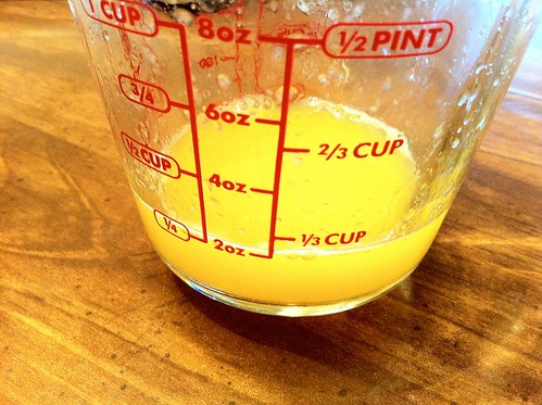 1/4 cup Oranage Juice