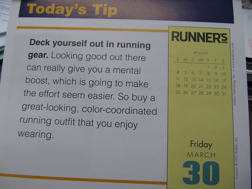 daily running tip