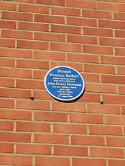Photo of Dominic Barberi blue plaque