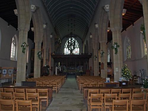 Nave looking east