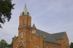 St. Landry Catholic Church Exterior - August 10, 2007