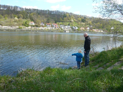 Clair shows Alan the Danube