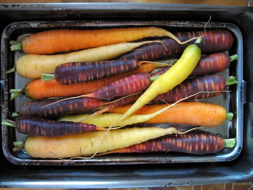 carrots in my smoker