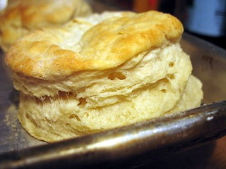 flaky biscuit