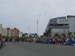 video 02 Club Ansofe y Hermanos Garcia demostracion doma vaquera V Feria Abril Las Palmas de Gran Canaria 2012